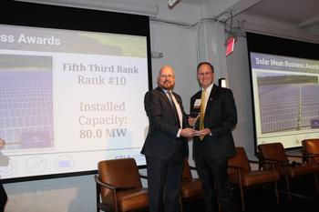 Fifth Third Accepts Award for Top 10 Solar Recognition: https://mms.businesswire.com/media/20191120005746/en/758109/5/SEIA_Top_Ten_Award_Photo.jpg