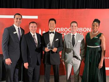 Fluor's Deep Dewpointing Process Wins Best Gas Processing/LNG Technology at Hydrocarbon Processing 2019 Awards: https://mms.businesswire.com/media/20191120005752/en/758133/5/IMG_1595.jpg