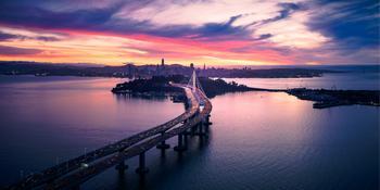 San Francisco Bay Area Metropolitan Transportation Commission Awards Iteris $6.9 Million Operational Services Contract: https://mms.businesswire.com/media/20201008005036/en/828067/5/aerial-view-of-san-francisco-oakland-bay-bridge-KZJ8HH9.jpg