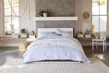 Gap and Walmart Partner to Introduce Gap Home The First-Ever Home Collection from Gap, the Leading Casual Lifestyle Brand: https://mms.businesswire.com/media/20210526006158/en/880998/5/GAP-Home-Modern-American-Bedroom-LT-Blue_MAY_27.jpg