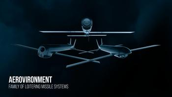 AeroVironment Introduces Family of Loitering Missile Systems Featuring New Switchblade 600, Delivering Precision Strike Capabilities at the Battlefield's Edge: https://mms.businesswire.com/media/20201001005675/en/826703/5/FOLMS_aircraft_02_300dpi_text.jpg