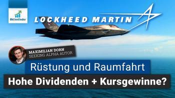 Lockheed Martin Aktie – Rüstung und Raumfahrt für hohe Dividenden plus Kursgewinne: https://aktienfinder.net/blog/wp-content/uploads/2021/06/Lockheed-Martin-Aktienanalyse-Dividenden-und-Kursgewinne-1024x576.jpg