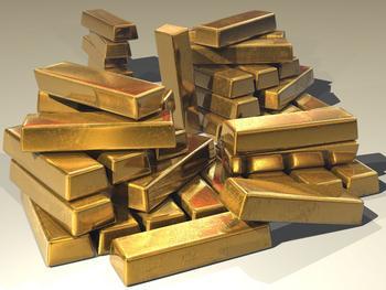 Der Goldpreis steigt und steigt: https://images.pexels.com/photos/47047/gold-ingots-golden-treasure-47047.jpeg