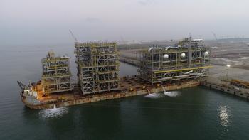 COOEC-Fluor Completes Module Program for KIPIC Al-Zour Project in Kuwait : https://mms.businesswire.com/media/20191224005110/en/764461/5/DJI_0067.jpg