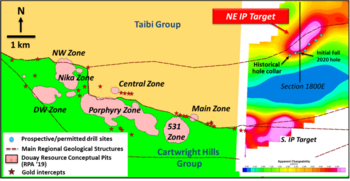 Maple Gold Begins Fall Discovery Exploration Program; Initial Drilling to Test Northeast IP Target: https://www.irw-press.at/prcom/images/messages/2020/53938/22102020_EN_MGM-EN.001.png