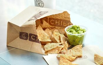 Chipotle  Enters Clothing Sales With Responsibly Sourced Product Line: https://g.foolcdn.com/editorial/images/585527/chipsguacamole_2_1500.jpg