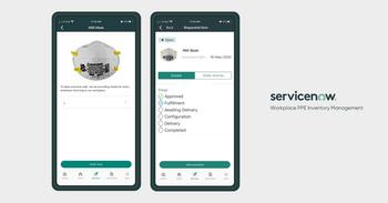 ServiceNow Releases Four Apps to Help Companies Handle Essential Steps to Returning Employees Safely to the Workplace: https://mms.businesswire.com/media/20200518005797/en/792494/5/Workplace_PPE_Inventory_Management_App.jpg