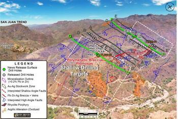 GR Silver Mining meldet Bohrergebnisse von Silberprojekt Plomosas - Bedeutsame oberflächennahe Intervalle: https://www.irw-press.at/prcom/images/messages/2020/53433/20-09-16_GR-Silver-News-Release_deF_PRcom.001.jpeg