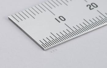 Murata Develops the World's First Multilayer Ceramic Capacitor: https://mms.businesswire.com/media/20191204005290/en/760126/5/%E3%80%90%E6%9D%91%E7%94%B0%E8%A3%BD%E4%BD%9C%E6%89%80%E3%80%91MLCC_0201_0.1%CE%BCF.jpg