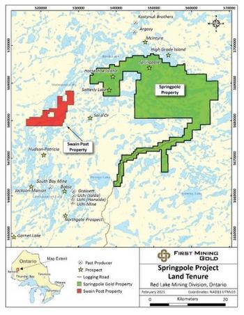 First Mining erhält Option auf Landpaket in der Nähe des Goldprojekts Springpole in Kanada: https://www.irw-press.at/prcom/images/messages/2021/57004/20210301FFNewsRelease-DE_PRcom.001.jpeg