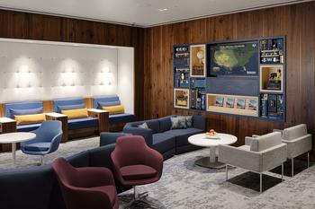 American Express Continues to Expand and Offer Card Members Exceptional Travel Benefits with the Opening of the Centurion® Lounge and Escape Lounge at the Phoenix Sky Harbor International Airport: https://mms.businesswire.com/media/20200106005236/en/765050/5/PHX_Lounge%26MediaWall_PR-USEONLY.jpg
