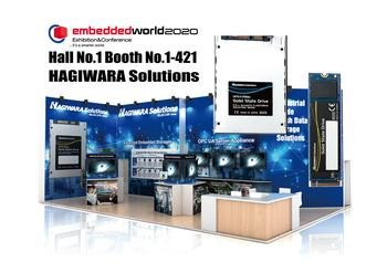 Hagiwara Solutions Co., Ltd., an Elecom group Company, Will Be Exhibiting Its New and Innovative Products at Embedded World 2020, Nuremberg, Germany: https://mms.businesswire.com/media/20200217005076/en/773790/5/Hagiwara_Booth_1-421.jpg