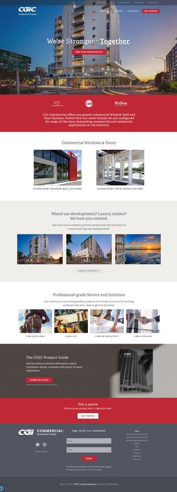 CGI Commercial Unveils Revamped Website With Optimized Experience: https://mms.businesswire.com/media/20200220005799/en/774848/5/CGIC_Website.jpg
