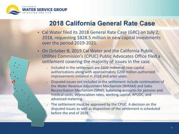 Dividend Kings In Focus Part 25: California Water Service: https://www.suredividend.com/wp-content/uploads/2019/12/CWT-Rate-Case-e1576017853576.jpg