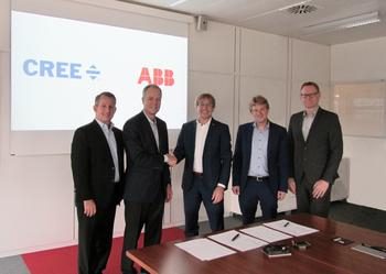 Cree and ABB Announce Silicon Carbide Partnership to Deliver Automotive and Industrial Solutions: https://mms.businesswire.com/media/20191118005227/en/757125/5/IMG_2801_revised.jpg
