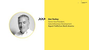Dan Toohey appointed Senior Vice President, Sales & Business Development of Kapsch TrafficCom North America: https://mms.businesswire.com/media/20211004005506/en/912623/5/Kapsch-KTC-NAM-Announce_Toohey.jpg
