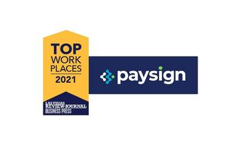 Paysign Named a Winner of the Nevada Top Workplaces 2021 Award by the Review-Journal and Business Press: https://mms.businesswire.com/media/20210610005207/en/884326/5/Top_Nevada_Workplace_Article_Thumbnail_v2.jpg