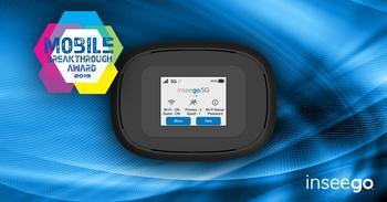 Inseego's 5G MiFi® M1000 Mobile Hotspot Named Mobile Broadband Solution of the Year: https://mms.businesswire.com/media/20191119006051/en/757847/5/Mobile_breakthrough_LinkedIn_dk.jpg
