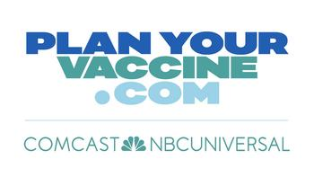 "Comcast NBCUniversal Wants to Help You ""Plan Your Vaccine,"" Launches Nationwide Awareness Campaign and Tool to Navigate COVID-19 Vaccination Process: https://mms.businesswire.com/media/20210211005502/en/858650/5/planyourvaccine-comcast-nbcuniversal-on-white.jpg"