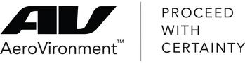 AeroVironment, Inc. Schedules Third Quarter Fiscal Year 2021 Earnings Release and Conference Call: https://mms.businesswire.com/media/20191104005868/en/660004/5/AV_Logo_PWC_Combo_6_9_16.jpg