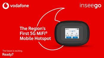 Vodafone Qatar Premieres the Region's First 5G MiFi® Mobile Hotspot from Inseego: https://mms.businesswire.com/media/20191125005283/en/758841/5/VF-6096_5G_MBB_2.jpg