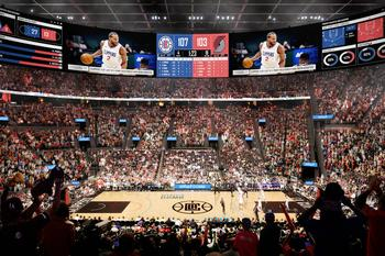 LA Clippers to Announce Partnership During Groundbreaking for Intuit Dome: https://mms.businesswire.com/media/20210917005108/en/907193/5/Intuit+Dome+Interior+Rendering.jpg