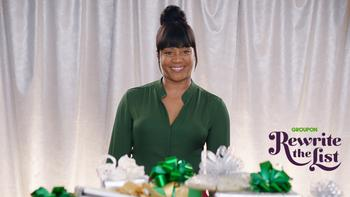 Tiffany Haddish's Holiday Gift Advice: Ask for More Experiences : https://mms.businesswire.com/media/20191114005872/en/756814/5/4122006_Rewrites_Her_List.jpg