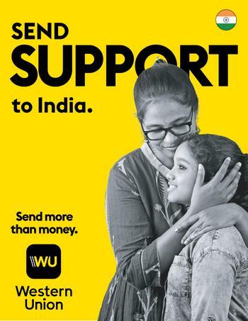 Western Union unterstützt die COVID-Hilfe in Indien: https://mms.businesswire.com/media/20210501005014/de/875251/5/Western_Union_Support_to_India.jpg