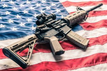 The FBI's July Gun Data Shows Another Month of Record Background Checks: https://g.foolcdn.com/editorial/images/585503/ar-15-modern-sporting-rifle-gun-firearmgetty.jpg