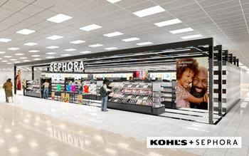 Kohl's and Sephora Announce Major Long-Term Strategic Partnership Bringing Transformative Prestige Beauty Experience to Millions of Consumers: https://mms.businesswire.com/media/20201201005217/en/842889/5/Sephora_at_Kohls_-_Interior_-_Logo.jpg
