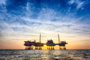 Is BP a Buy?: https://g.foolcdn.com/editorial/images/537341/an-offshore-oil-production-platform-at-sunset.jpg