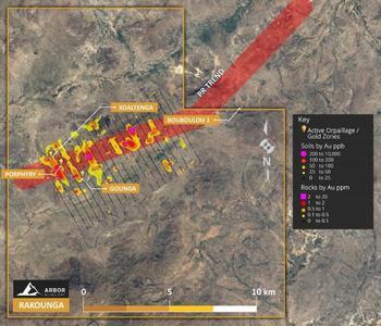 Arbor Metals Completes Geochemical Program at Rakounga Gold Project, West Africa: https://www.irw-press.at/prcom/images/messages/2020/53951/ArborMetals_EN_PRcom.001.jpeg