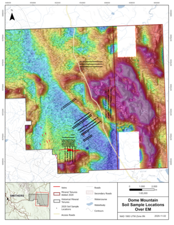 Blue Lagoon Stakes New Prospective Ground at Dome Mountain After Carefull Analysis of its Recently Flown Airborne Geophysical Survey: https://www.irw-press.at/prcom/images/messages/2020/54290/BlueLagoon_181120_ENPRcom.004.png