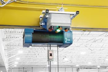 Columbus McKinnon's Automation Division Introduces Intelli-Lift™ System: https://mms.businesswire.com/media/20200707005597/en/803643/5/Intelli-Lift-Hoist-w-Sensor-V2.jpg