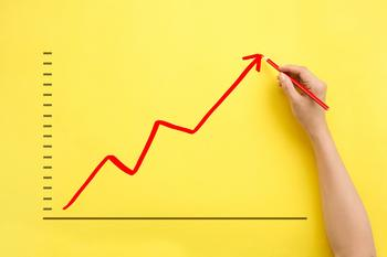 Why Maxar Technologies Stock Just Popped 10%: https://g.foolcdn.com/editorial/images/585558/rising-red-stock-arrow-representing-a-stock-going-up-drawn-on-a-yellow-background.jpg