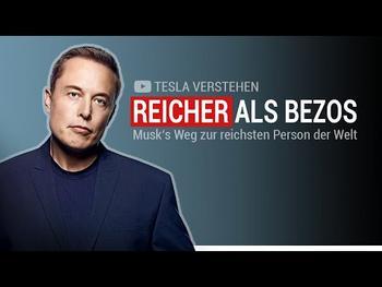 Tesla Aktie: Elon Musk mit über 195 Mrd. US$ der reichste Mensch der Welt: https://img.youtube.com/vi/DNSW-fC5wOA/hqdefault.jpg
