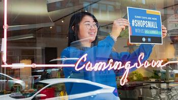 American Express Commits More Than $100 Million to Inspire Consumers to Support Small Businesses Globally Through its Year-Round Shop Small® Campaign : https://mms.businesswire.com/media/20210623005610/en/887083/5/Shop_Small_Summer_Coming_Soon_4.jpg