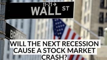 Will the Next Recession Cause a Stock Market Crash?: https://g.foolcdn.com/editorial/images/537364/tbl_recession_thumbnail.png