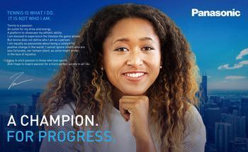 Panasonic Announces Signing of Professional Women's Tennis Player Naomi Osaka as Brand Ambassador: https://mms.businesswire.com/media/20210624005399/en/887520/5/210624.jpg