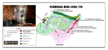 GR Silver Mining Announces a Significant Underground Discovery of Polymetallic Mineralization at the Plomosas : https://www.irw-press.at/prcom/images/messages/2020/53583/20-09-28_GR-Silver-News-Release_Final_PRCOM.002.png