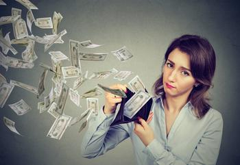 Need More Cash? Slash Your Spending on These 5 Things: https://g.foolcdn.com/editorial/images/529287/sad-woman-with-money-flying-out-of-wallet.jpg