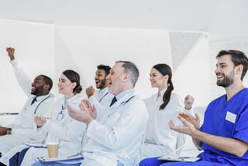 4 Biotech Stocks With Big Catalysts in September: https://g.foolcdn.com/editorial/images/538573/cheering-crowd-of-healthcare-providers-getty.jpg