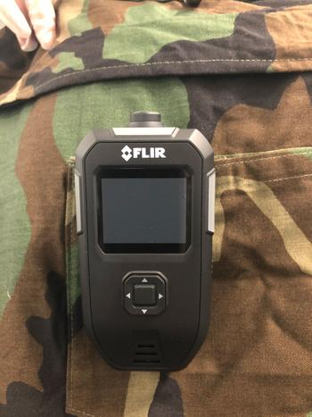 Teledyne FLIR Wins Pentagon Contract to Develop First Individual Chemical Detector for Warfighters: https://mms.businesswire.com/media/20210614005051/en/884655/5/CVCAD_on_BDU.jpg