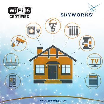 Skyworks Advances Next Generation Wi-Fi 6E: https://mms.businesswire.com/media/20200211005436/en/772626/5/PR-0220+Wi-Fi-6-FINAL.jpg