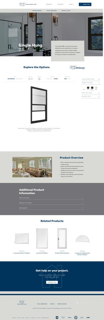 PGT® Custom Windows + Doors Creates a Highly Engaging Experience With Website Launch: https://mms.businesswire.com/media/20201007005303/en/828179/5/PGTwindowsProductPage.jpg