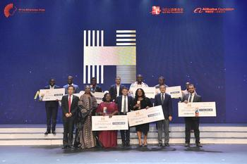 $1 Million Awarded to African Entrepreneurs in Grand Finale of the Jack Ma Foundation Africa Netpreneur Prize Initiative : https://mms.businesswire.com/media/20191117005049/en/757107/5/Africa_Netpreneur_Prize_Initiative_Winners.jpg