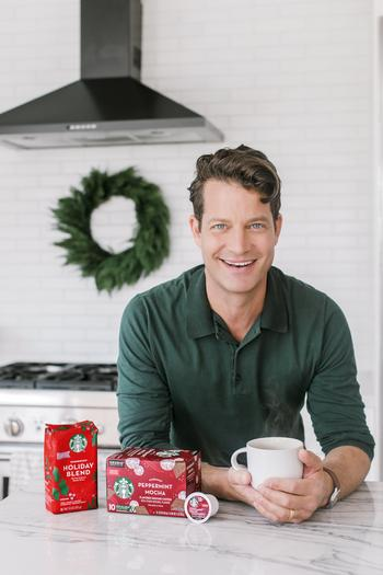 Photo of Starbucks Holiday At-Home Portrait Series with Nate Berkus Available on Business Wire's Website and the Associated Press Photo Network: https://mms.businesswire.com/media/20201020005327/en/831624/5/GF7A1484_R2_%281%29.jpg