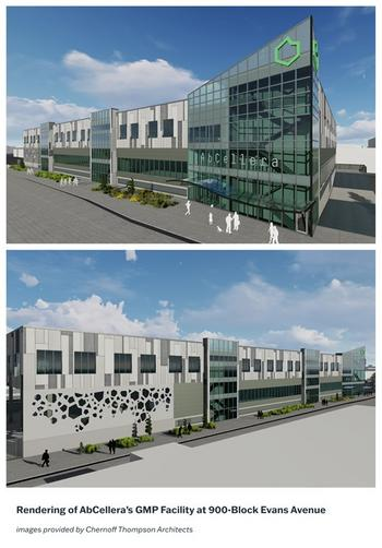 AbCellera Continues Expansion and Strengthens Future Pandemic Preparedness with First-of- its-Kind GMP Manufacturing Facility for Therapeutic Antibodies in Canada: https://mms.businesswire.com/media/20210622005425/en/886698/5/AbC_GMPRendering.jpg