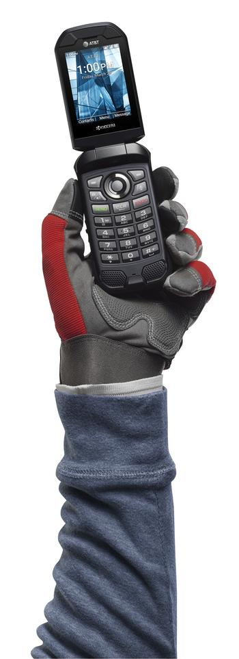 KYOCERA Launches Rugged, Reliable, FirstNet Ready DuraXE Epic with AT&T : https://mms.businesswire.com/media/20210416005103/en/871955/5/DuraXE_Epic_Front_Open_Gloved_w-Camera.jpg