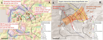 Carlyle Commodities Samples up to 48.3 g/t Gold over 0.75 M at the Cecilia Project in Sonora, Mexico : https://www.irw-press.at/prcom/images/messages/2020/54294/Carlyle181120_ENPRcom.001.png
